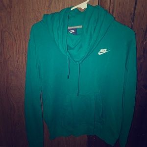 Nike cowl neck hoodie